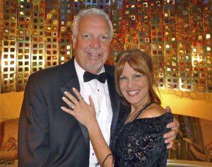 Bert Grimm and Shauna Hoffman