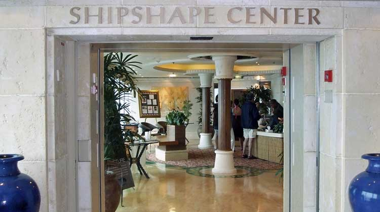 Shipshape Center on Cruise Ship