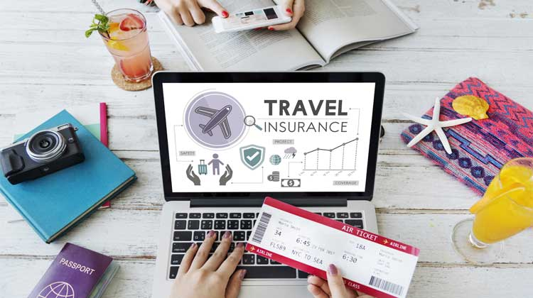Getting Travel Insurance on a Computer