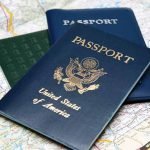 Passports for Your Cruise on a Map