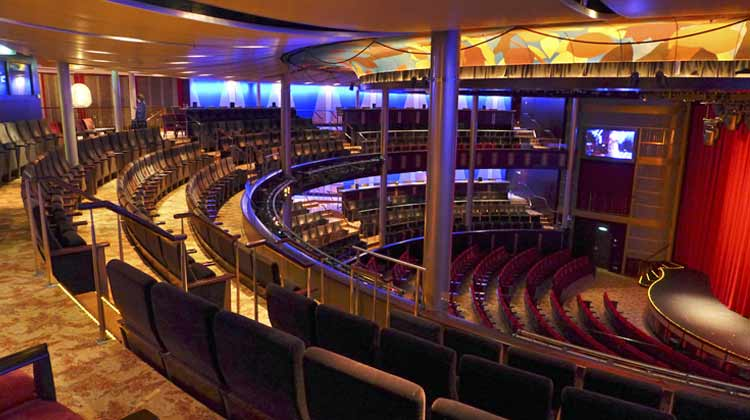 Celebrity Equinox Theater