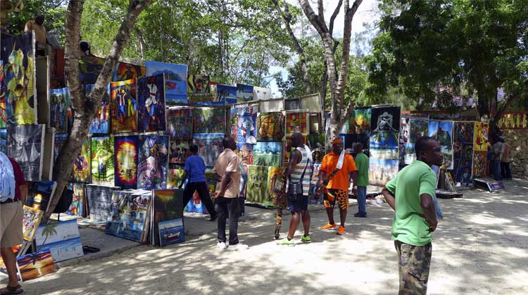 Haitian Paintings Labadee