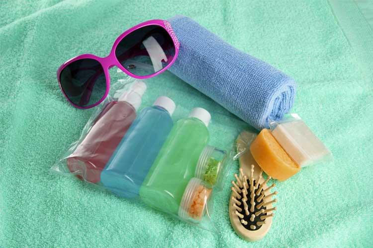TSA Cruise Shampoo Bottles